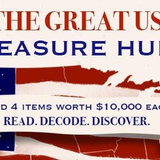 The Great US Treasure Hunt with David Steele